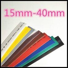 1 medidor 2:1 9 cores 15mm 16mm 18mm 20mm 22mm 25mm 28mm 30mm 35mm 40mm heatshrink tubo tubo fio dropshipping
