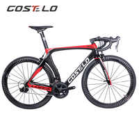 Costelo Lucca 2.0 Complete ROAD BICYCLE carbon fiber road bike frame fork clamp seatpost Carbon Road bike direct mount brake
