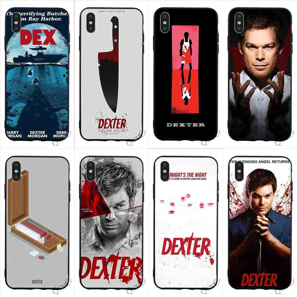Модный телефон Dexter David Fisher чехол для iPhone 7 Xs Max XR X 8 Plus 6 6S 5s 5 SE Shell