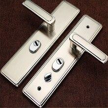 Universal Security  door handle  anti-thief  door plate anti-explosion pick-proof multi-function  door lock handle