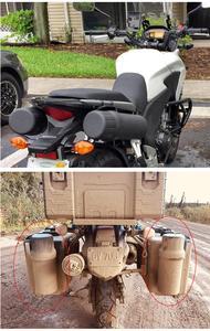 Image 5 - Moto fuoristrada universali accessori per motociclette guanti per attrezzi impermeabili scatola di immagazzinaggio impermeabile