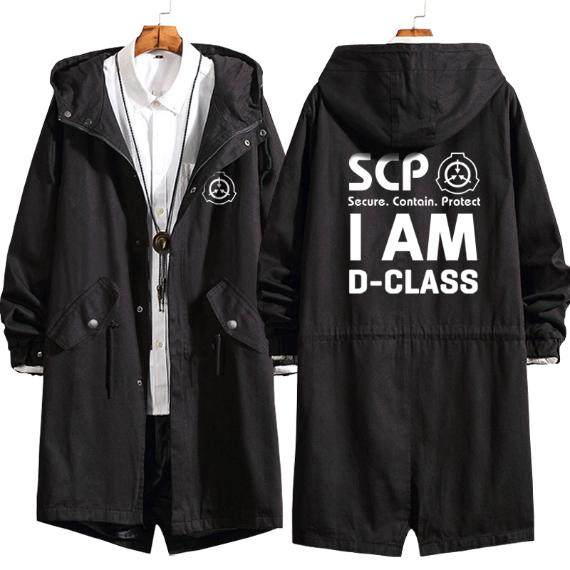 Details about  /Anime SCP Foundation Cosplay zipper Hoodies Sweatshirts Unisex Coat Tops