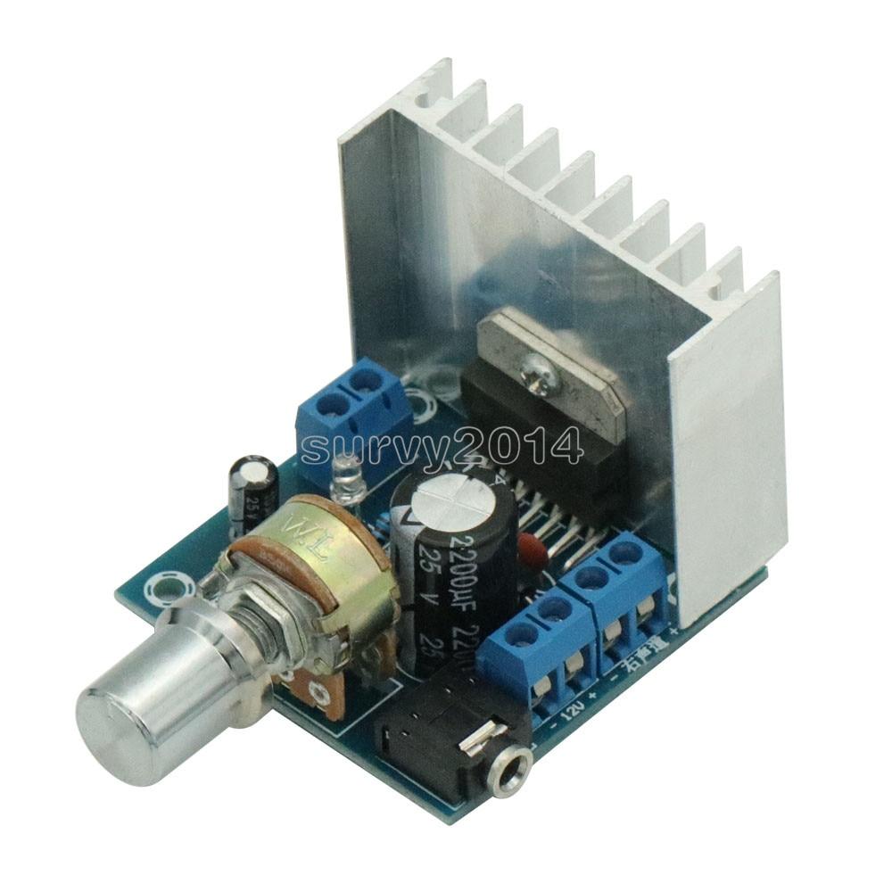 TDA7297 Version B Amplifier Board AC/DC 12V 2x15W Digital Audio Dual Channel Module 15W+15W Grade 2.0 Board