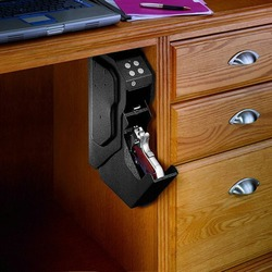 Caja de Seguridad con contraseña para pistola, caja de seguridad portátil, caja fuerte de acero laminado en frío con código Digital de seguridad, caja fuerte