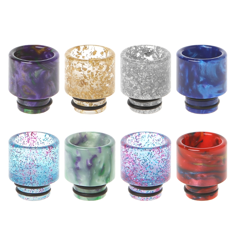 <font><b>510</b></font> Drip Tip Resin Electronic Cigarette <font><b>Mouthpiece</b></font> Cap For RDA RBA Kanger Aspire image