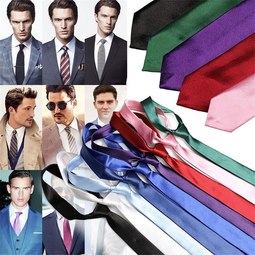 Pre-tied Neck Tie Multicolor Smooth Classic Silk Polyester Man's Business Luxury Tie Necktie Bridegroom Party Dress Necktie Mens