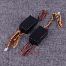DWCX 1 Pair Universal 3 Step Sequential Flow Semi Dynamic Chase Flash Tail Turn Signal Light Module Boxes12V DC
