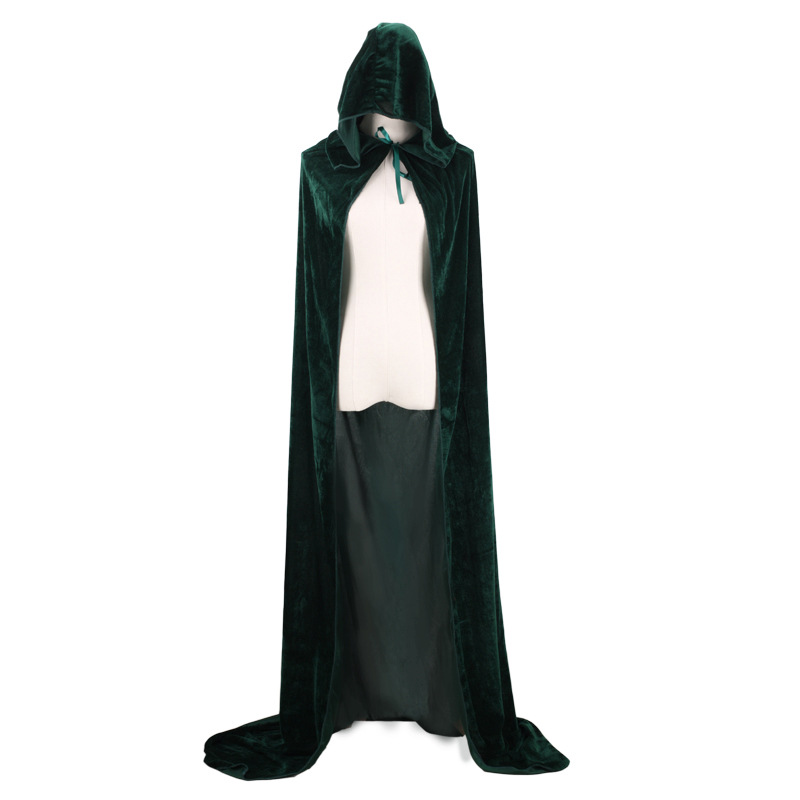 Wontive Halloween Death Cape COS Witch Witch  Wangzigongzhu Anime  Halloween Costumes For Men Adult Cosplay Clothing