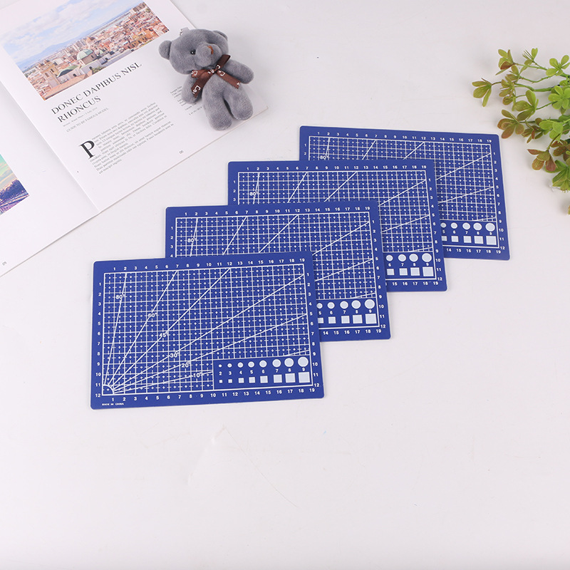A5 Cutting Base Plate PVC Double-sided Cutting Plate Scale Plate Office Stationery