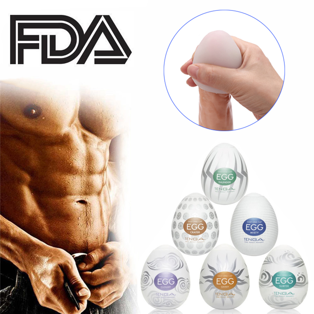 Masturbation Wavy Egg Cup Male Masturbator Mens Sex Toys for Men Penis Sex Pocket Pussy Realistic Vagina Silicone with Lubricant