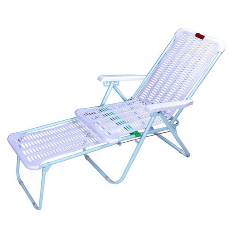 Recliner Folding Lunch Break Home Multifunctional Summer Nap Chair Outdoor Portable Leisure Lazy Chair Plastic Beach Chair