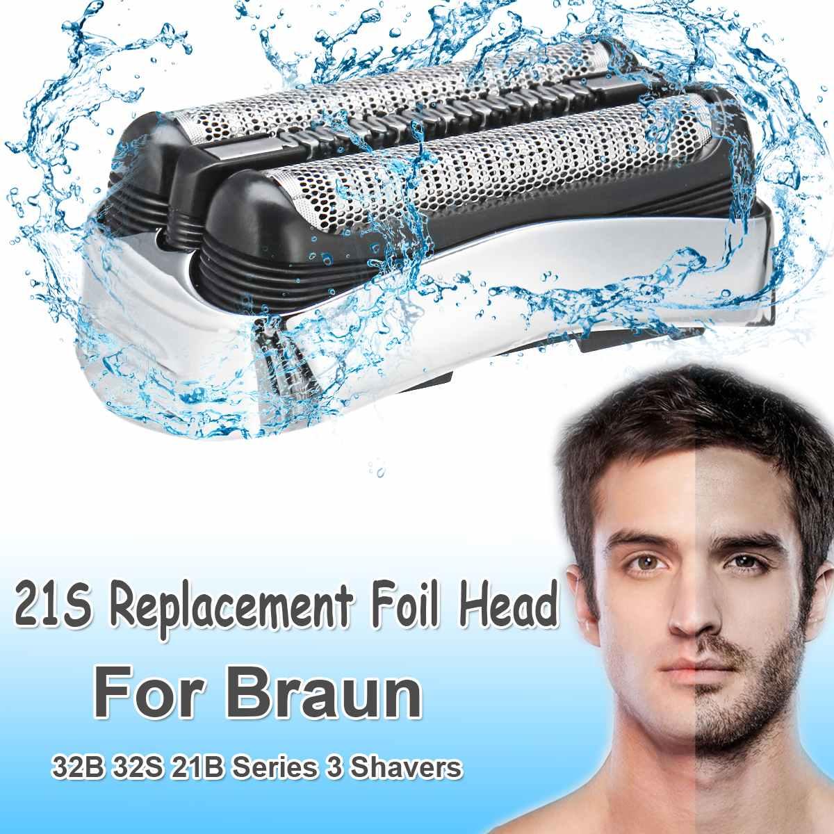 Замена лезвия бритвы Фольга головки для зубных щеток Braun 21B 32B 32S Series 3 310S 320S 340S 360S 3000S 3010S 3020S 3040 350CC 370CC 3050CC|Электробритвы|   | АлиЭкспресс