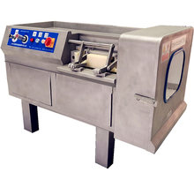Komersial Dicing Mesin Stainless Steel Daging Segar Pemain Dadu DRB-R350 Mikro Daging Beku Granul Mesin Pemotong 380V 3KW(China)