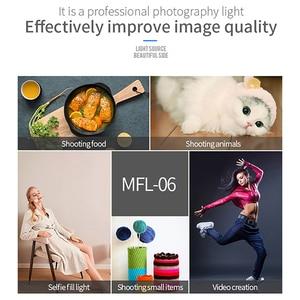 Image 5 - Manbily MFL 06 3000 6500K صغيرة LED كاميرا فيديو ضوء عكس الضوء 96 LED مصباح الإضاءة التصوير الفوتوغرافي لكانون DSLR نيكون بنتاكس