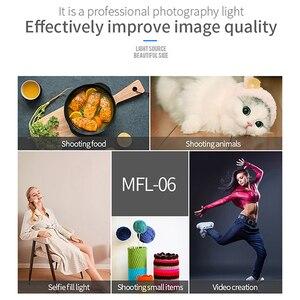 Image 5 - Manbily MFL 06 3000 6500k ledビデオカメラライト調光対応のための96 led写真照明ランプニコンペンタックス