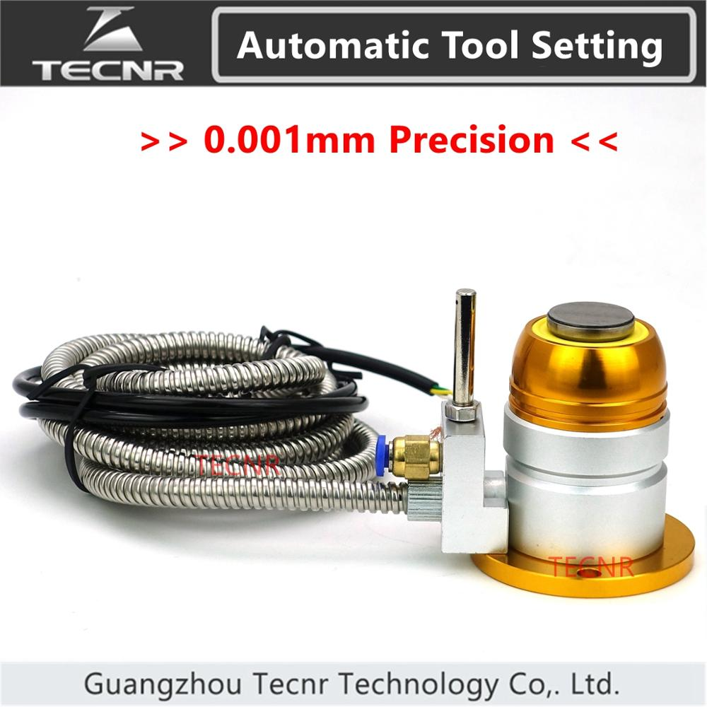 TECNR High Precision Automatic Tool Sensor Tool Setting Auto-Check Instrument Z Axis Setter For Cnc Engraving Cutting Machine