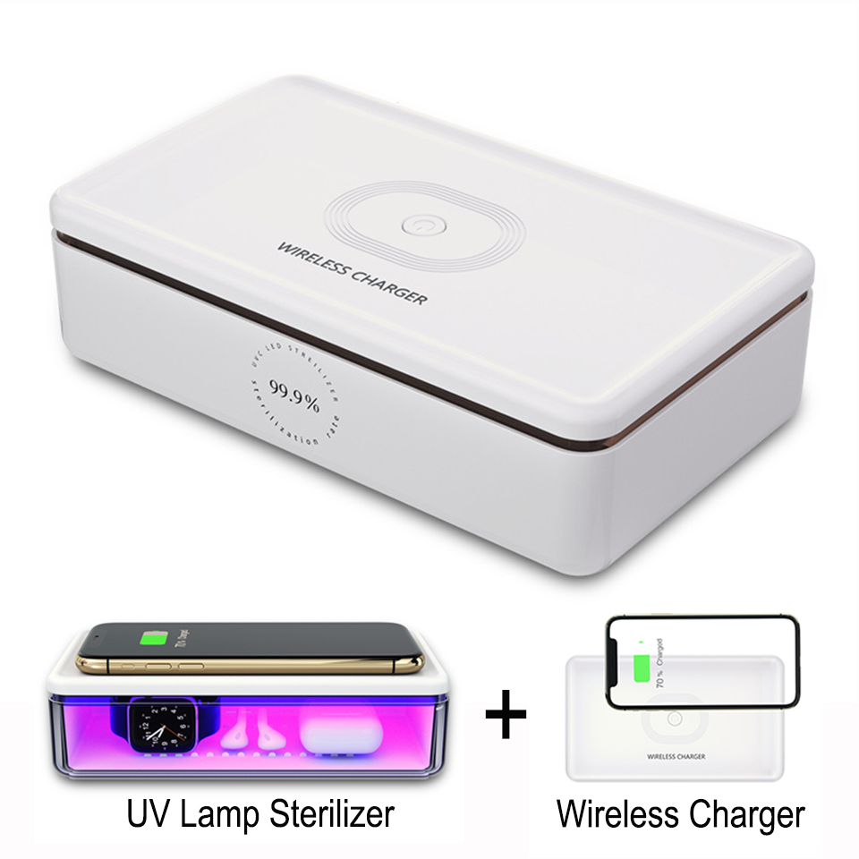 UV Phone Sterlizer Ultraviolet Ray Disinfection for Face Mask for Mobile Phone Wireless Charger Multifunction UV Sterilizer Box|Mobile Phone Sterilizer|   - AliExpress