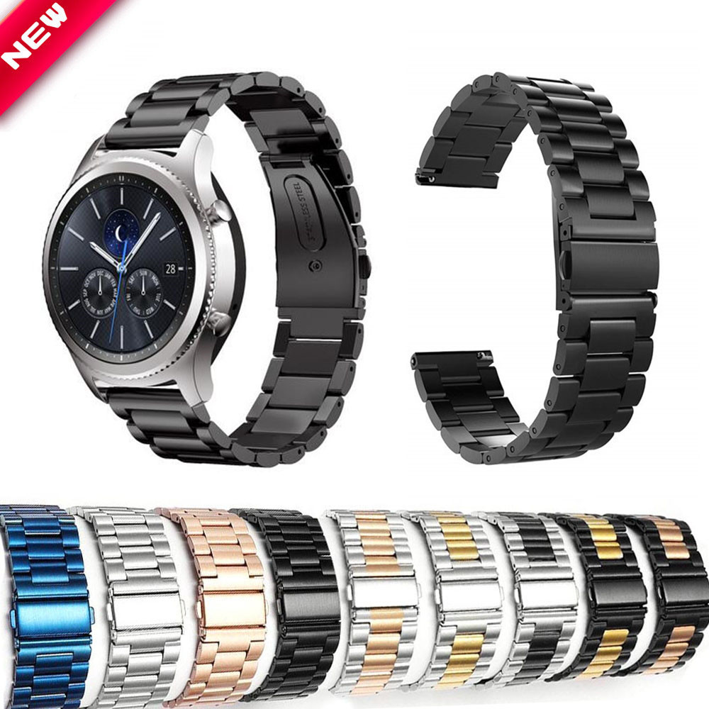 22mm/20mm Universal Metal Band For HUAWEI Watch GT 2 46mm/42mm Strap For Watch GT/2 Pro/ Magic 2/Glory Dream Replace Watchbands