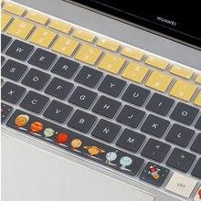 Силиконовый чехол для клавиатуры наклейки huawei matebook 13