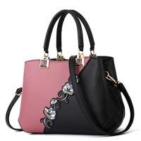 Embroidery Luxury Handbags Women Bags Designer Women Leather Handbags Messenger Bag for Women 2019 Sac a Main Ladies Hand Bags