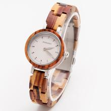 Unique Sandalwood Wooden Watches for Lovers Couple Men Watch