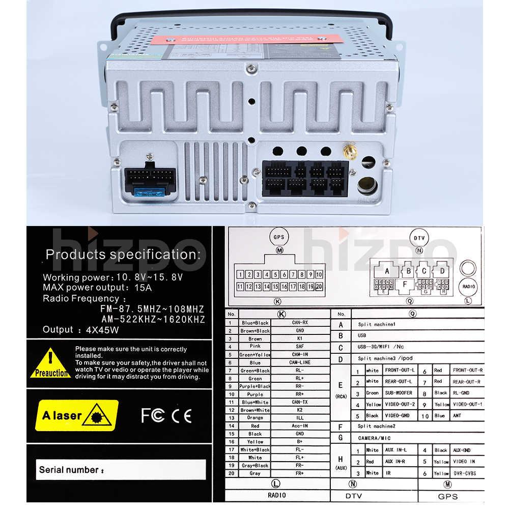 ml radio wiring diagram 2din 7 inch car dvd player for mercedes benz w209 w203 w168 ml  mercedes benz w209 w203 w168 ml