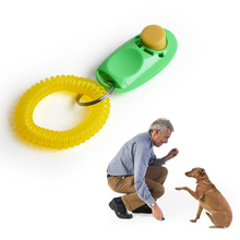 Pet Clicker Portable Training Guide Clicker Dog Supplies Whistle Trainer Delicate Button Clicker Pets Dog Cat Pet Clicker