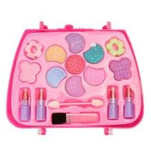 Juego de caja de maquillaje para chicas, juego de maquillaje para fiestas, juego de maquillaje para niñas, juego de cosméticos de viaje de princesa, juegos de simulación para niñas TSLM1
