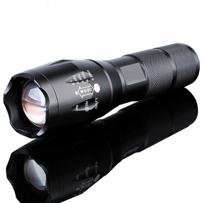 LED Rechargeable Flashlight CREE XML T6 linterna torch 4000 lumens 18650 Battery Outdoor Camping Powerful Led Flashlight(China)