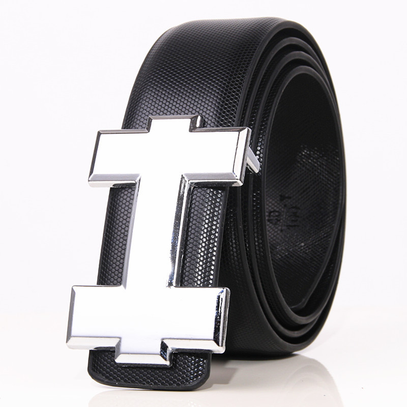 Luxury Designer Brand Belts Men Youth High Quality Male Leather Women Belt Accessories For Teens Jeans Belt Real Leather 3.3cm