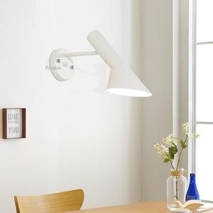 Image 4 - Horsten Modern Sconce Lighting Wall Mounted Bedside Reading Light Arne Jacobsen Wall lights Creative AJ Wall Lamp Home Lighting