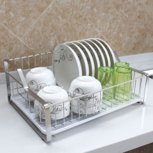 Stainless Steel  Sink Water Filter Rack Drain Basket Stainless Steel Kitchen Sink Dish Drainer Counter can be drain racks