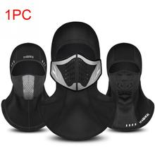 Winter Bicycle Face Mask Cap Ski Bike Face Mask Thermal Fleece Snowboard Shield Hat Headwear Cycling Cold Mask Windproof Outdoor недорого