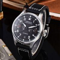 Corgeut automático relógios mecânicos esporte marca de luxo relógios masculinos reserva de energia luminosa data homem relógio de pulso masculino Relógios mecânicos     -