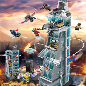 Image 1 - Upgraded Version Ironman Compatible Lepining Avenger Tower Fit Avengers Gift Building Block Bricks Toys