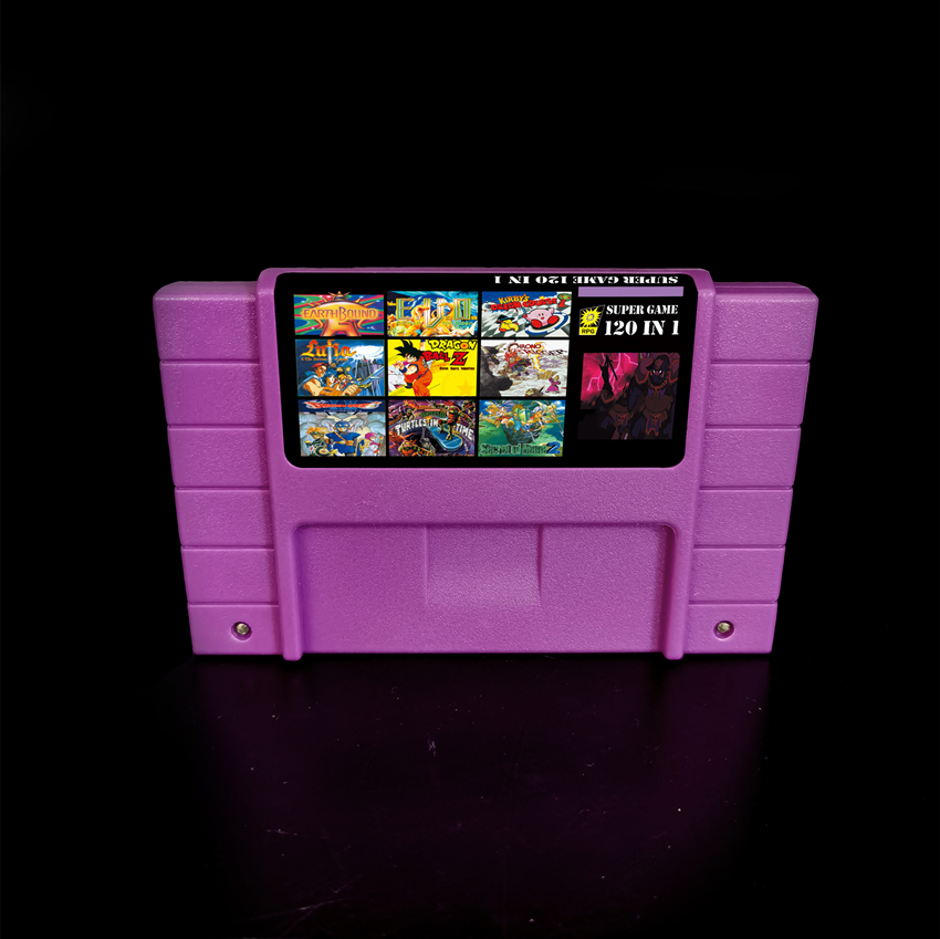 Super 120 In 1 Game Cartridge Card For 16 Bit Game Console With Hot Games Zeldaed Ancient Stone Tablets Chapter 1 2 3 4