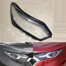 Chevrolet Equinox 2017 2018 용 자동차 헤드 라이트 렌즈 자동차 전조등 렌즈 교체 자동 쉘 커버