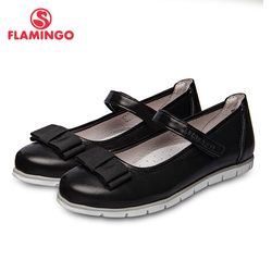 School shoes Flamingo 92t-xy-1460 shoes for girls leather insole shoes for children 31-36 #