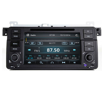 1 Din Car Multimedia player GPS Autoradio Stereo System For BMW/E46/M3/Rover/3 Series maps camera FM Radio image