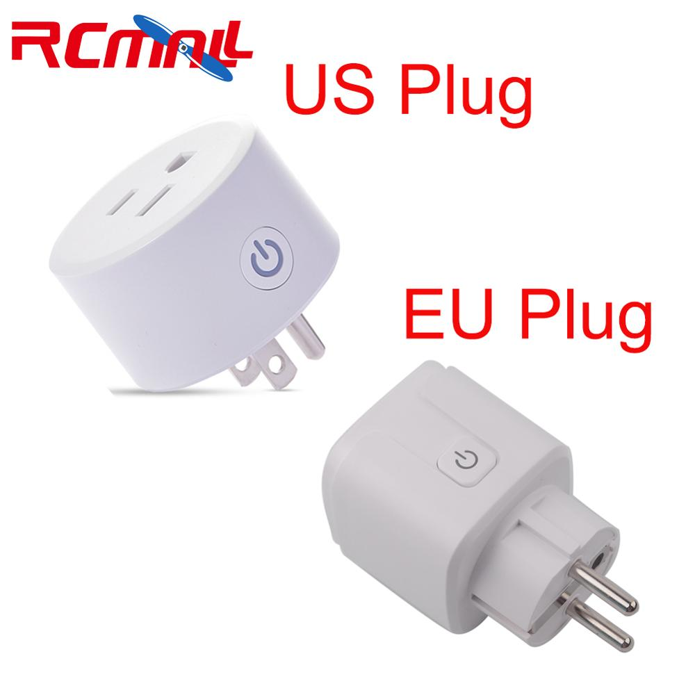 Wifi Smart Plug Compatible With HomeKit  Socket Outlet Switch Phone APP Alexa/Google Assistant Timer,EU / US Plug