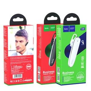 Image 5 - HOCO Mini Bluetooth słuchawki z mikrofonem bezprzewodowy zestaw słuchawkowy dla iPhone niewidoczna słuchawka muzyka w uchu zestaw głośnomówiący do samochodu