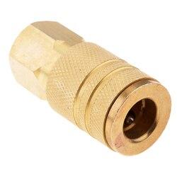 5 peças acoplador com plug kit 1/4in npt compressor de ar ferramenta mangueira conectores