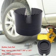 Boden Schlitz Auto Gummi Jack Pad Rahmen Protector Adapter Jacking Disk Pad Werkzeug für Pinch Schweiß Seite Heben Disk neue