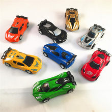 8Pcs/lot Children Mini Pull Back Cars Toys Baby Cartoon Racing Bus Car Model Educational Simulation Vehicle Toy For Boys Gifts(China)