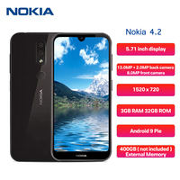 Nokia 4.2 4G Smartphone 5.71 inch Android 9 Pie Octa Core 3GB RAM 32GB ROM 13.0MP + 2.0MP Rear Camera 3000mAh Mobile Phone