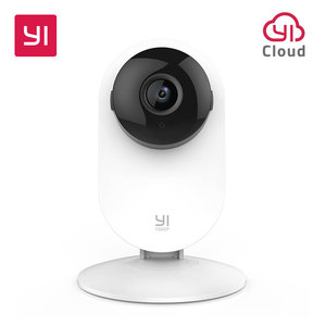 YI Home Camera 1080p Wireless IP Wifi Security Surveillance System Baby Monitor Night Vision Cloud International version (US/EU)(China)