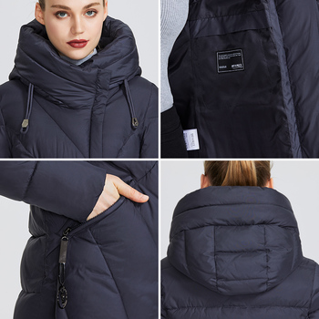 MIEGOFCE 2020 New Collection Women Coat With a Resistant Windproof Collar Women Parka Very Stylish