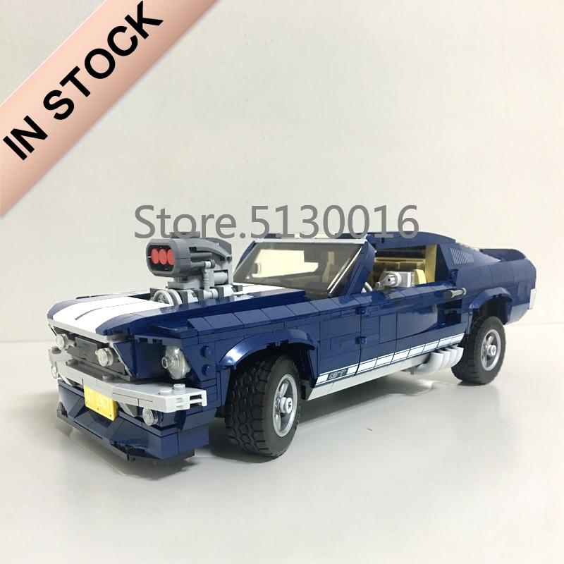 21047 Creator 10265 Forded Mustanged Car Set 1648Pcs Technic Model Building Blocks Bricks 21046 21001 21002 21045 10258 Toys