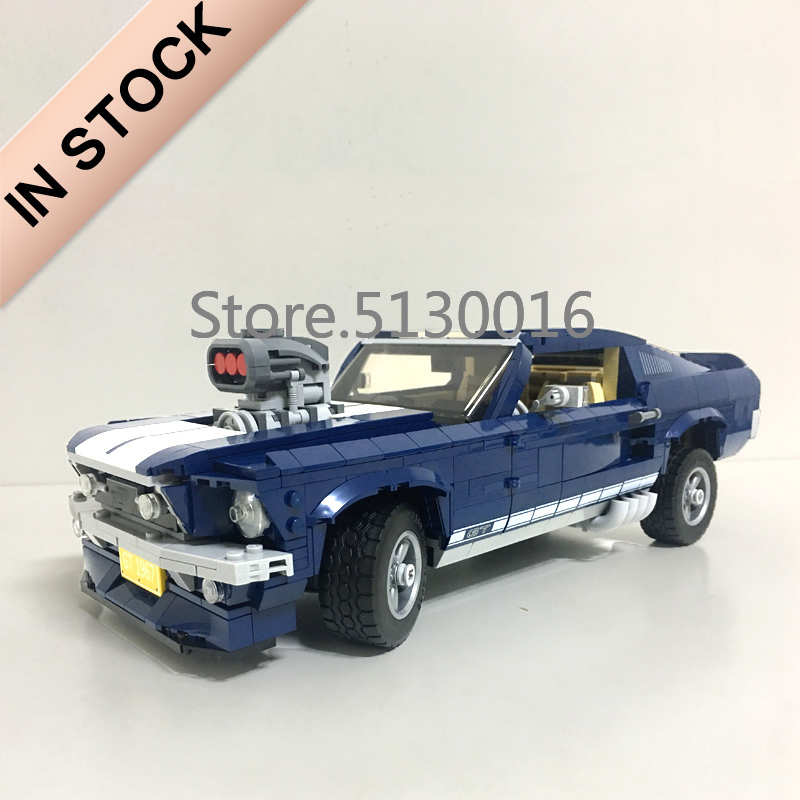 21047 Creator 10265 Forded Mustanged Car Set 1648Pcs Technic Model Building Kits Blocks Bricks Education Toys