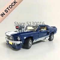 21047 Creator 10265 Forded Mustanged Car Set 1648Pcs Technic Model Building Kits Blocks Bricks Education Toys